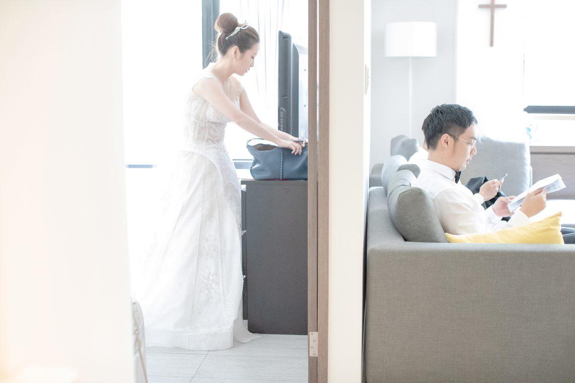 [婚攝]黃凱 安琪 / 台北文華東方酒店 Café Un Deux Trois